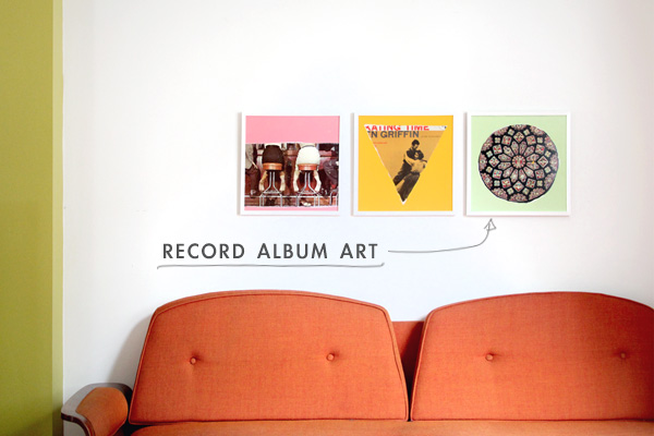 DIY | Easy Record Album Art - Making Nice in the Midwest