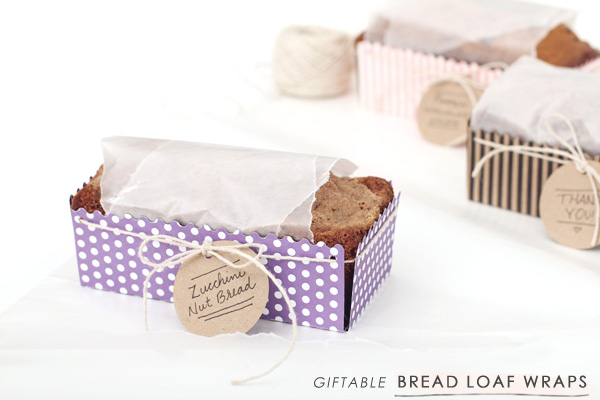 DIY | Giftable Bread Loaf Wraps + FREE TEMPLATE - Making Nice in the ...