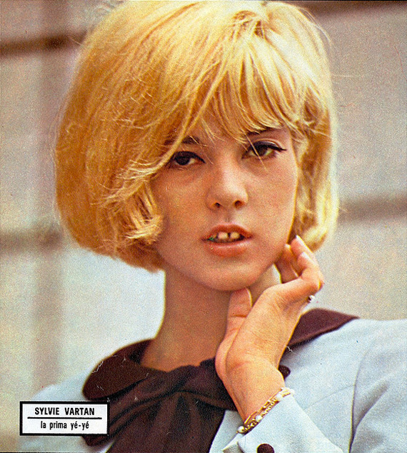 Hair Style Icon Sylvie Vartan Making Nice In The Midwest