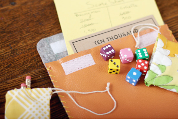 Diy Gift Idea Travel Dice Game Making Nice In The Midwest