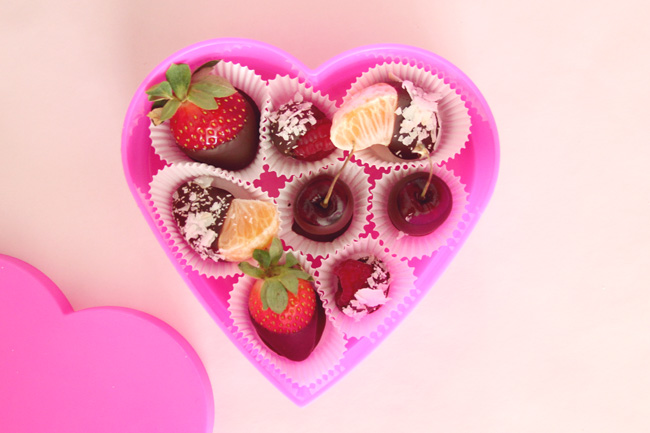 healthy valentine's day dessert