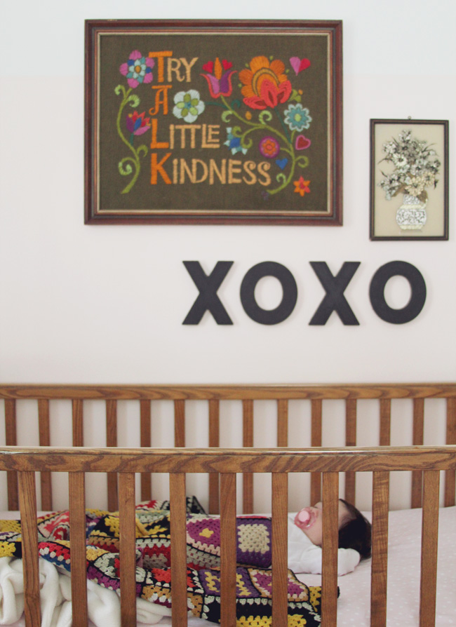 crib wall artwork nursery