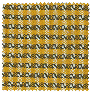 yellow and brown plaid suiting fabric