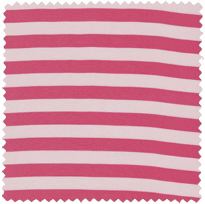 pink stripe silk apparel fabric