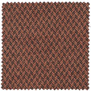 orange black boucle suiting apparel fabric
