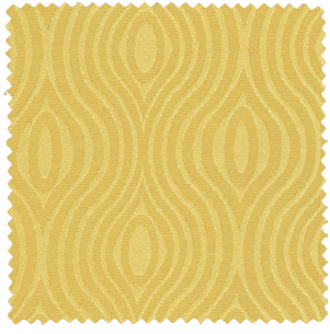 1960s inspired mod yellow gold jacquard fabric