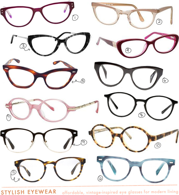 vintage prescription eye glasses cheap