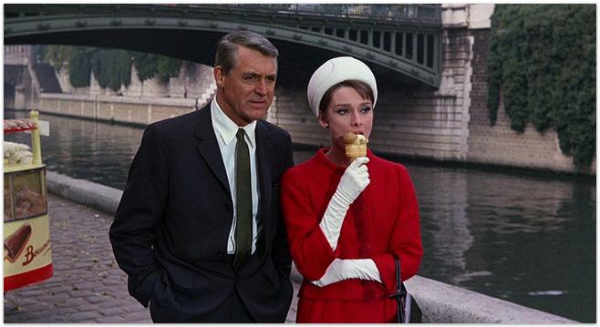 Charade, 1963 - Cary Grant & Audrey Hepburn