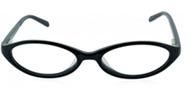 modern black cateye glasses