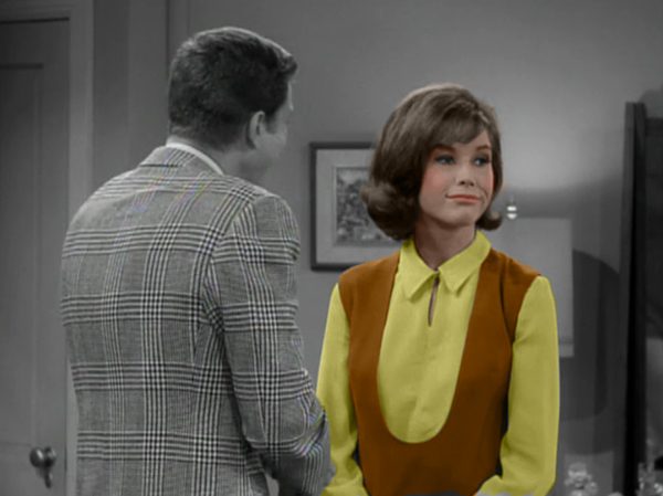 Laura Petrie in Color The Dick Van Dyke Show