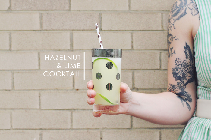 Hazelnut & Lime Cocktail from Making Nice in the Midwest