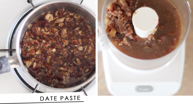 Date Paste- a natural, whole food sweetener substitute