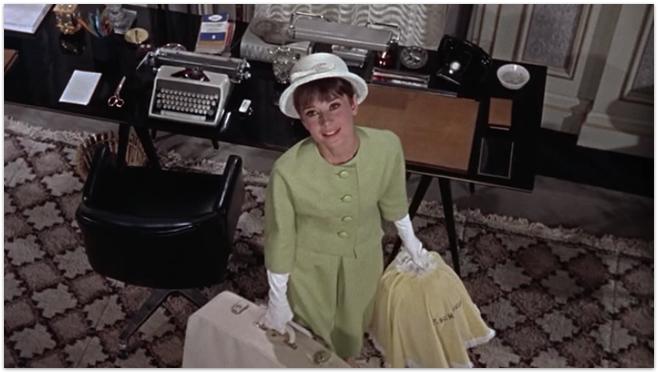 Paris When it Sizzles- Audrey Hepburn in Givenchy