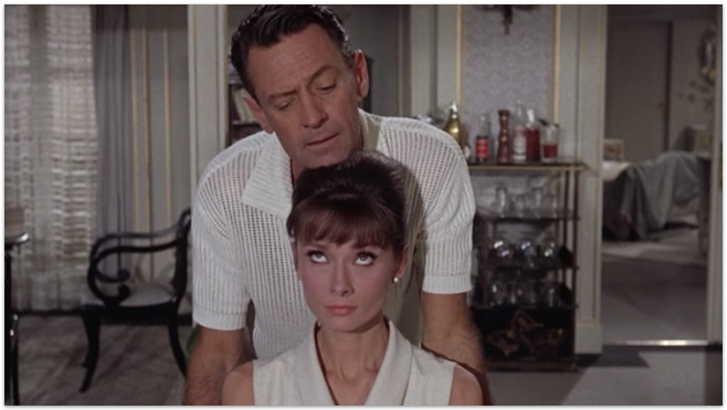 Paris When it Sizzles- William Holden and Audrey Hepburn