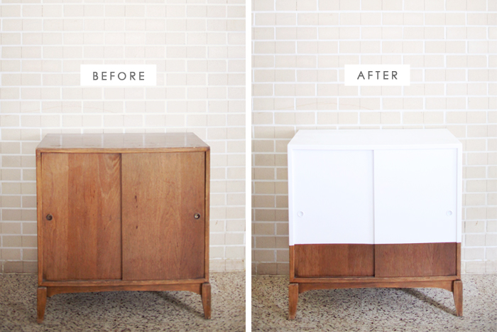 Record Player Cabinet Makeover Images
