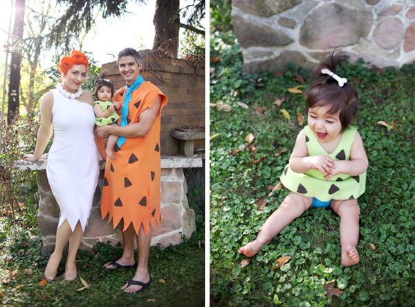 Flintstone Family costume DIY