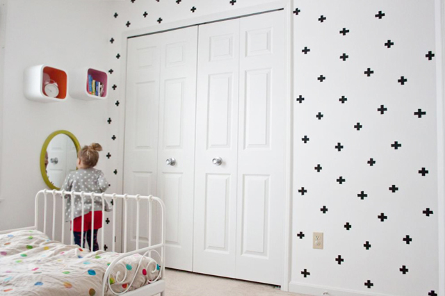 cute and creative little girl's bedroom
