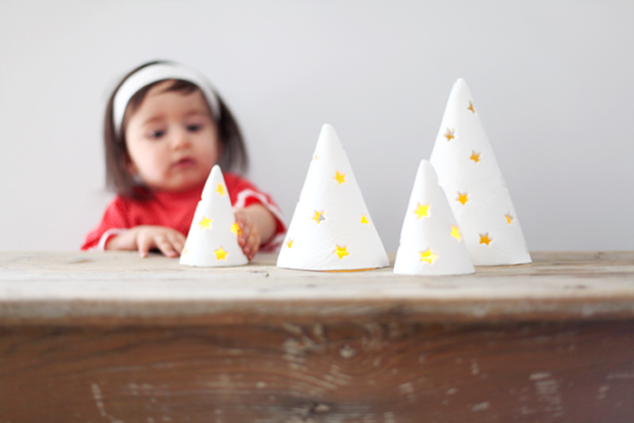 porcelain tree lights DIY