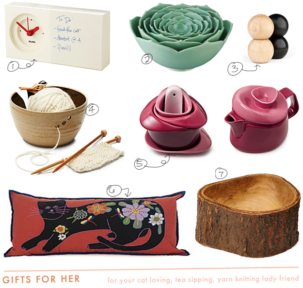 UncommonGoods gift guide for her