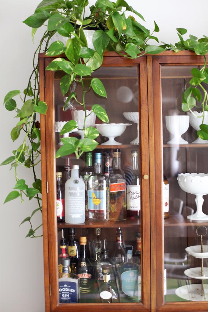 bar china cabinet