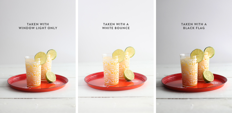Natural light food and product photography tips