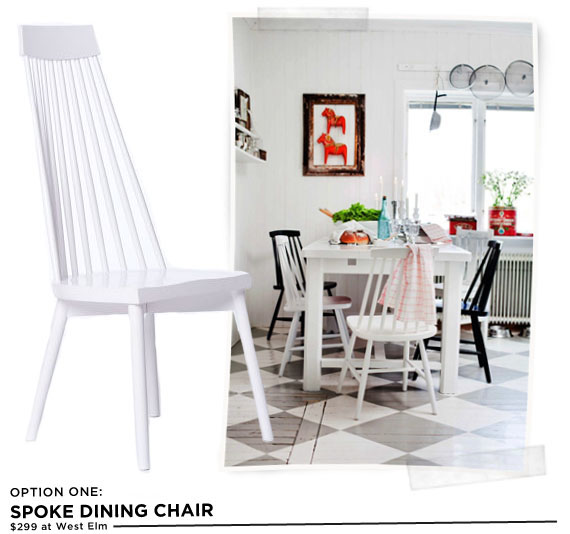 dining room decisions: the chairs - making nice in the midwest