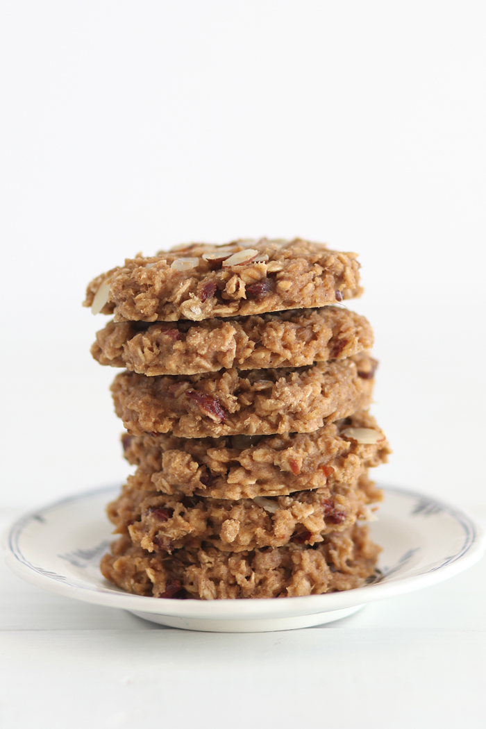 Gluten-Free Cherry Almond Breakfast Cookies