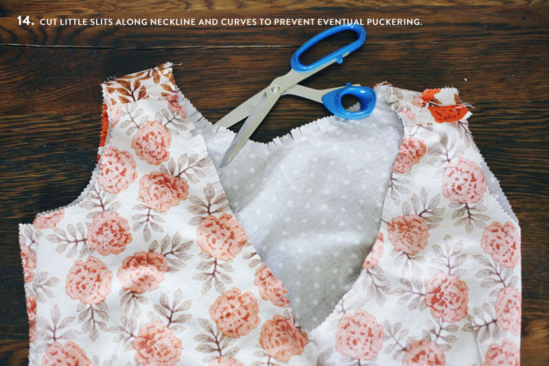 Make your own sewing pattern for a custom wrap top. Step by step photos of sewing process included!