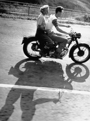 Loomis Dean Motorcycle Riding