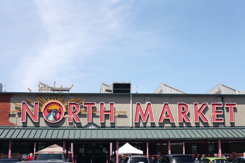 The North Market in Columbus, Ohio