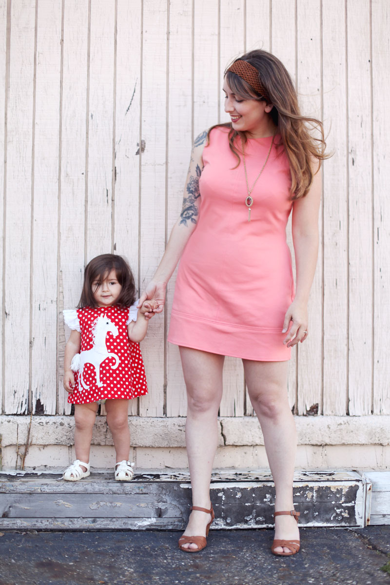 Vintage-Inspired Mother/Daughter Fashion