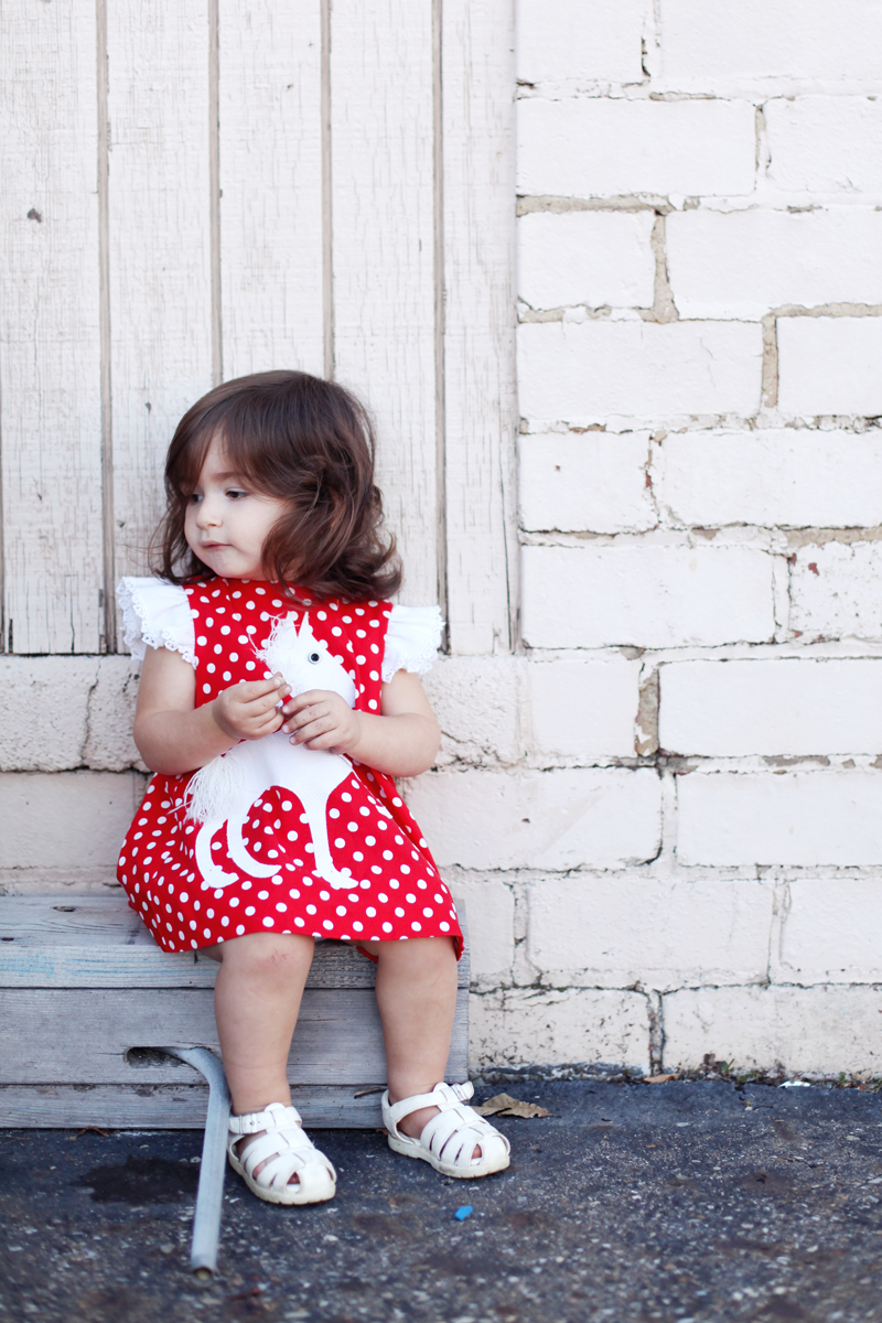 sixties' toddler fashion