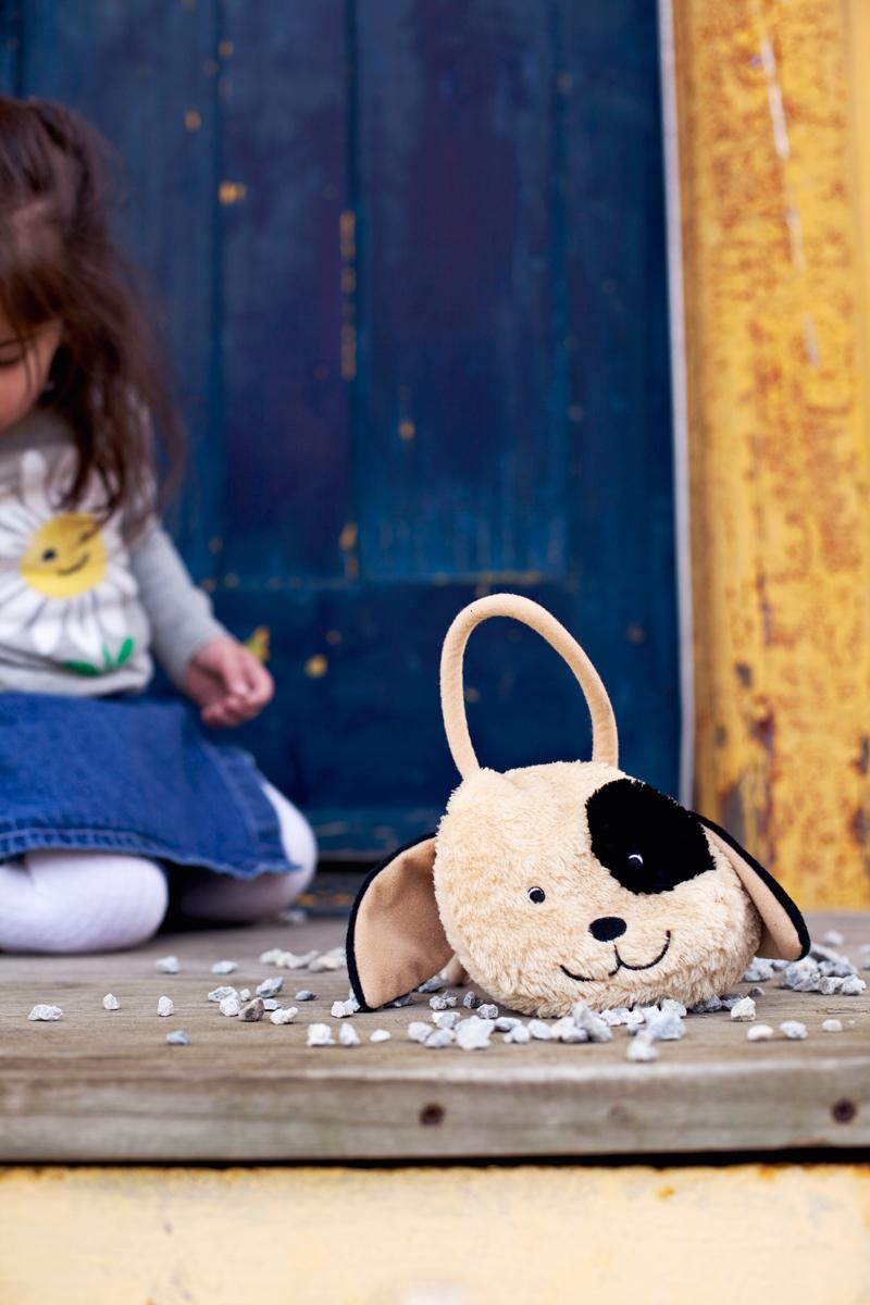 child's puppy purse