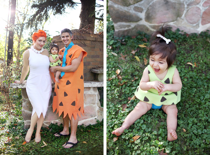 flintstone family costume