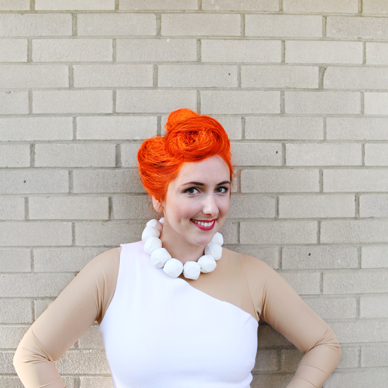 Wilma Flintstone Hair Tutorial