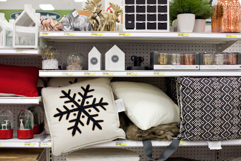 Target Holiday Decorations 2015