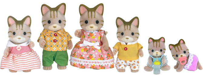 calico critter cat family