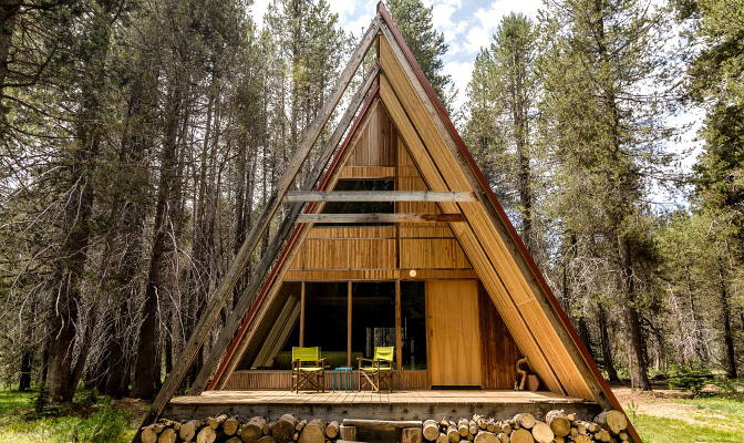 glamping-a-frame
