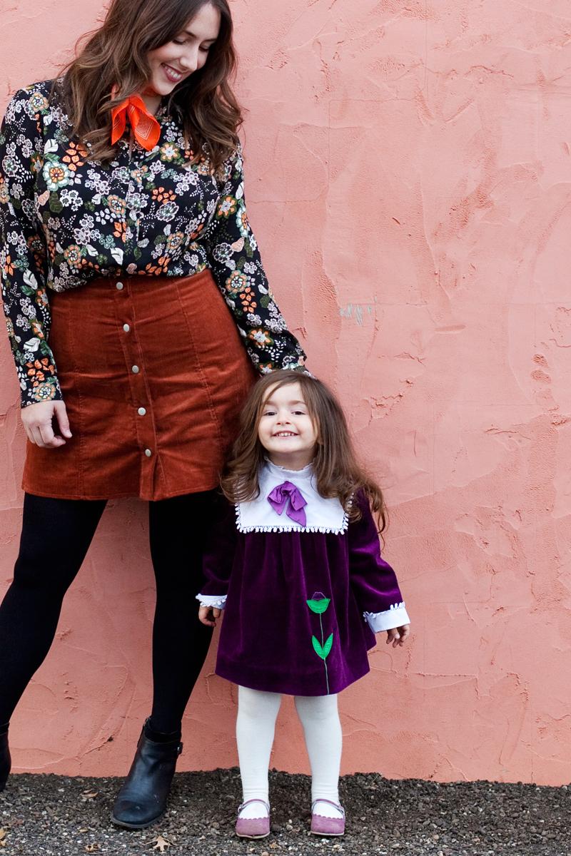 mother daughter vintage style blog