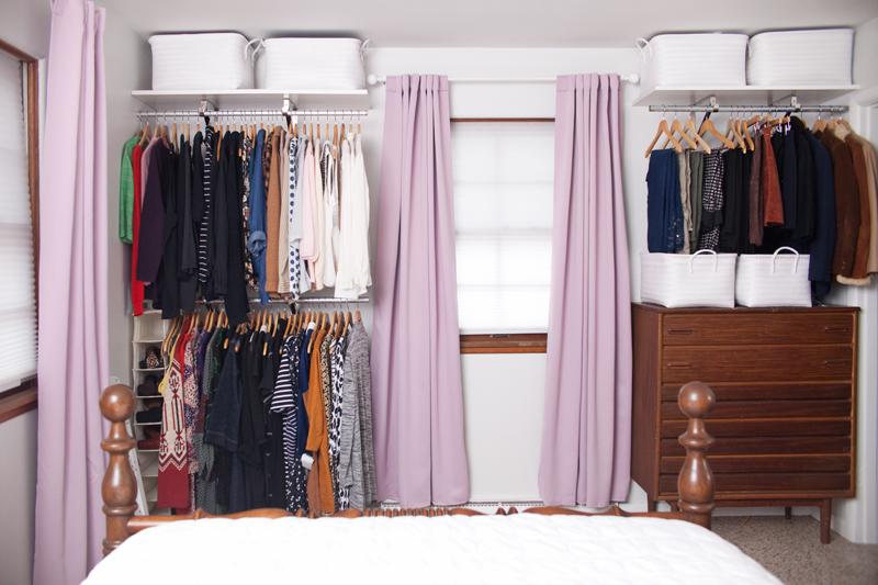 open closet system