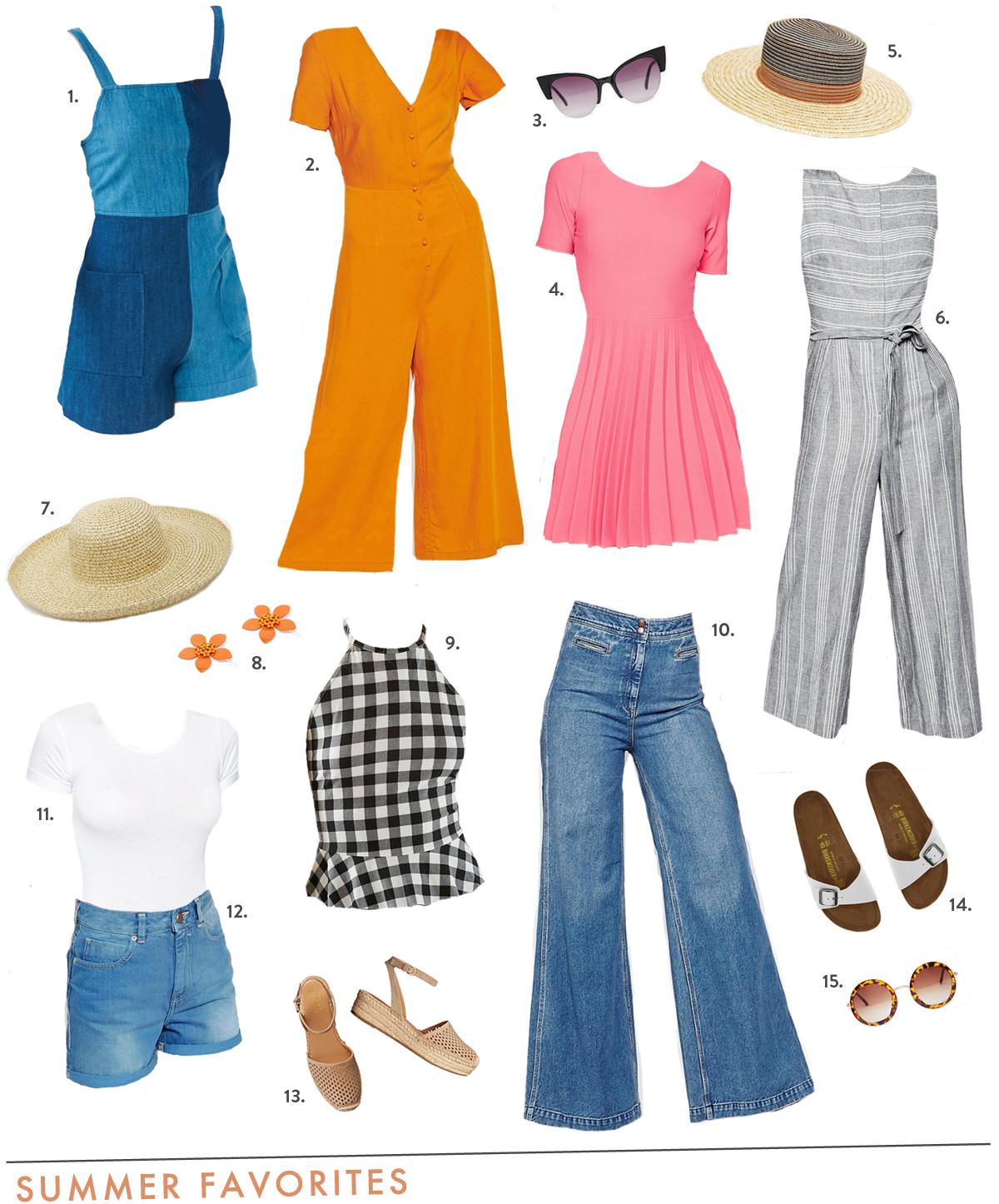 vintage inspired summer clothes