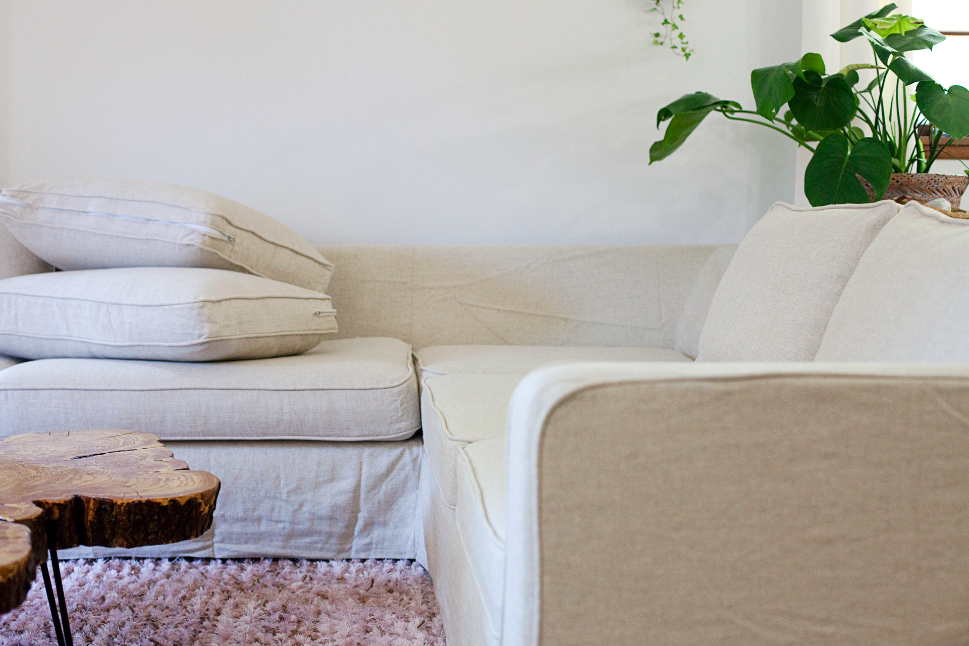 Comfort Works Karlstad Ikea Slipcover Review