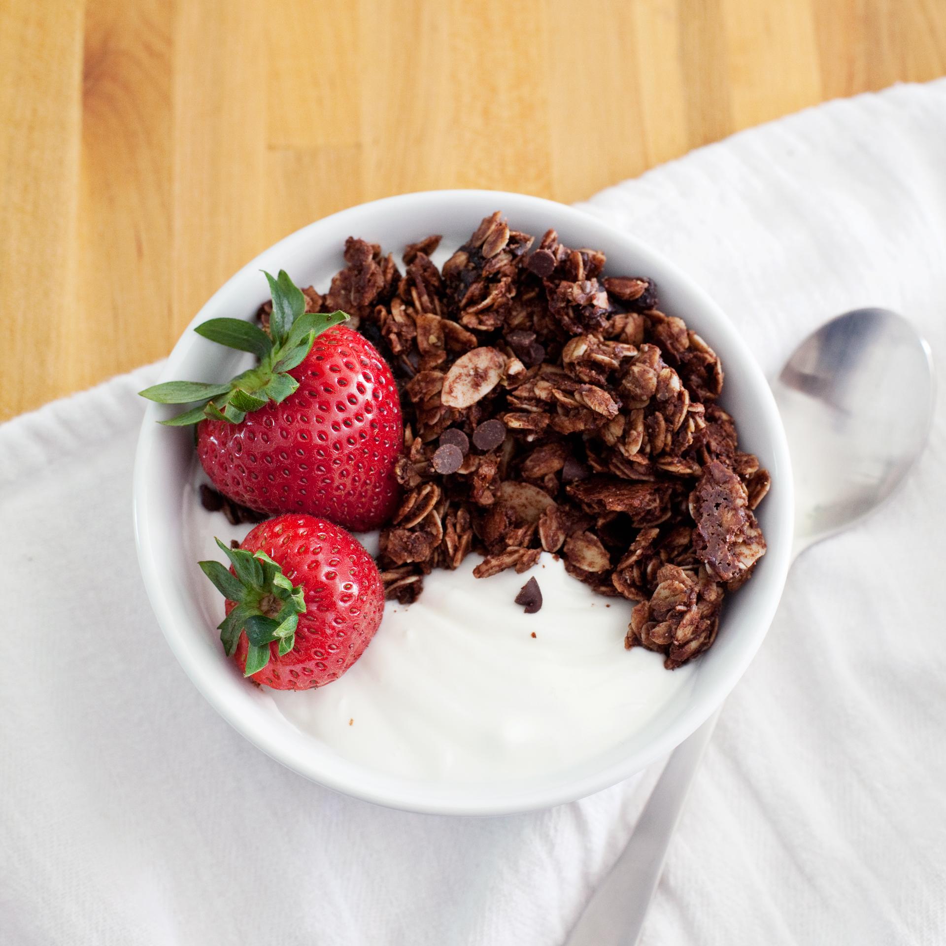 Refined Sugar Free Chocolate Granola Recipe