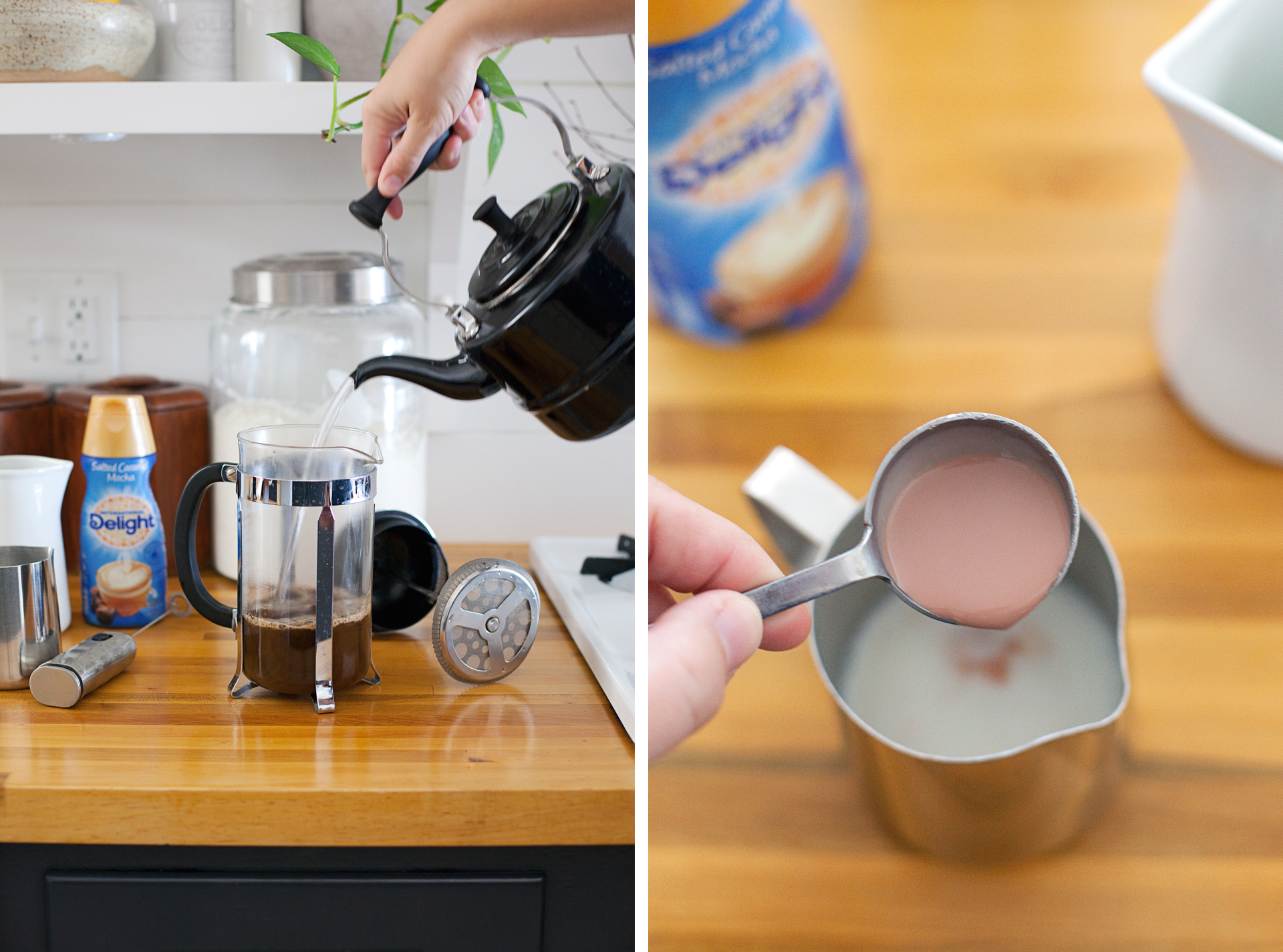 How to Make a Mocha Misto at Home