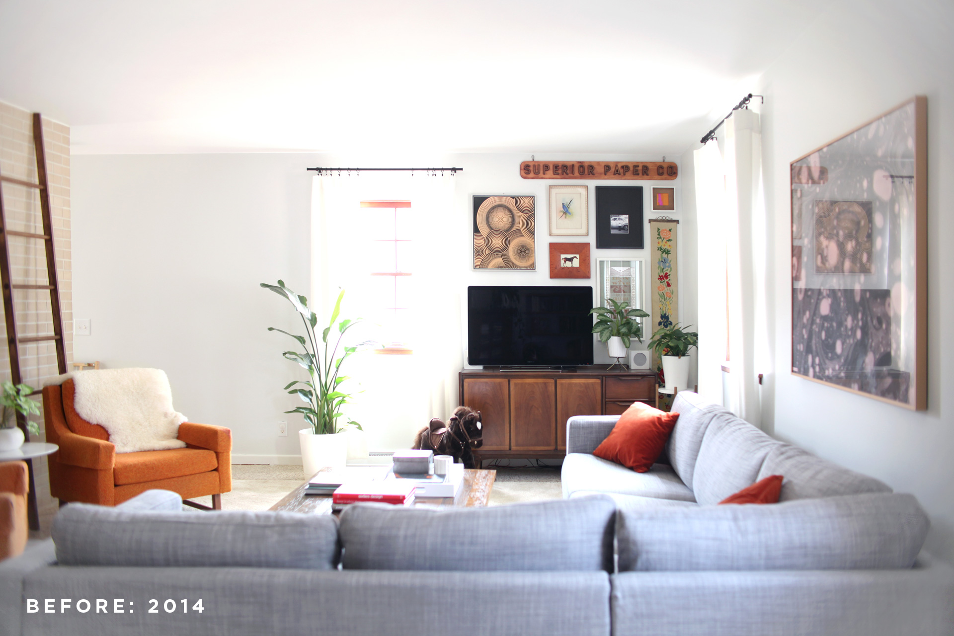 living room before (2014)