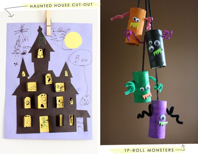 Toddler Halloween Crafts