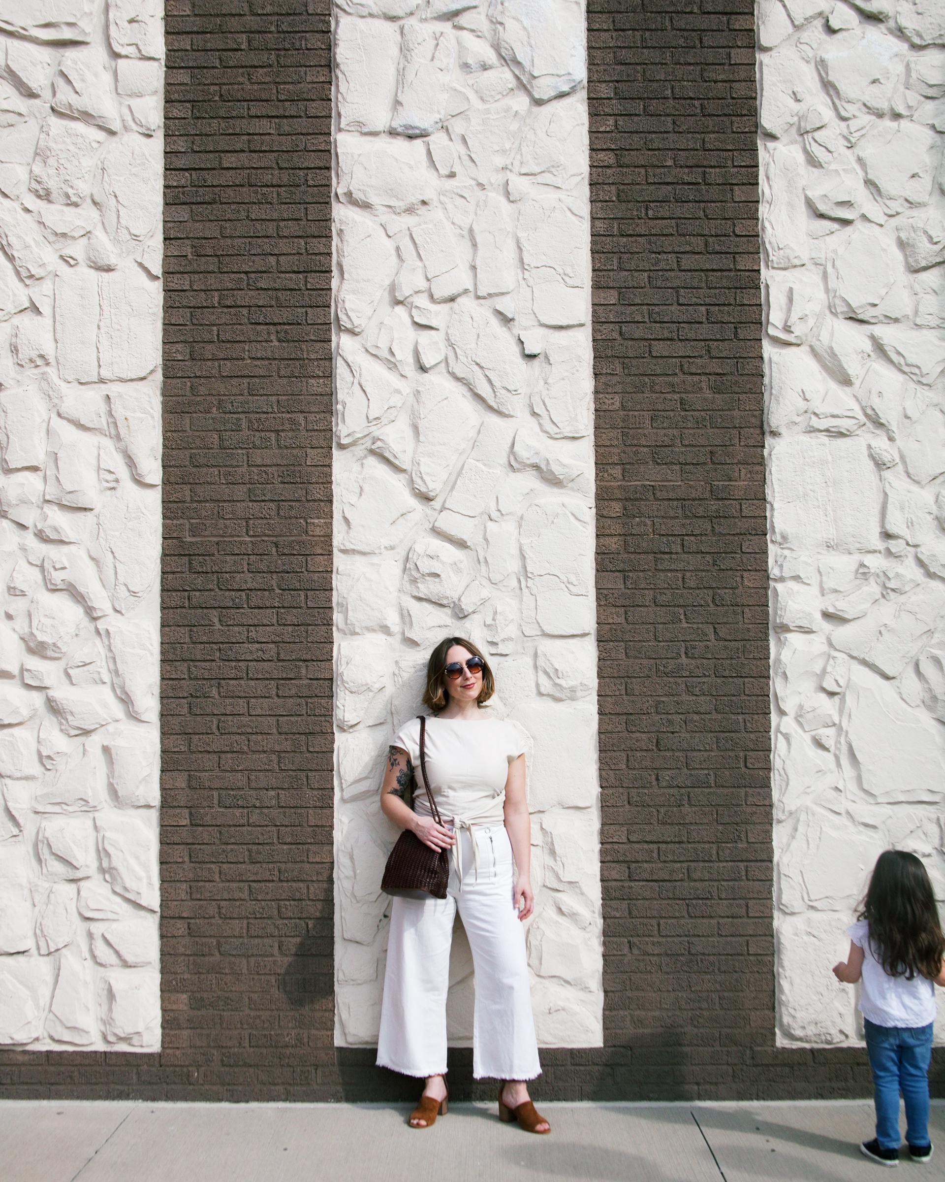 white on white minimal fashion