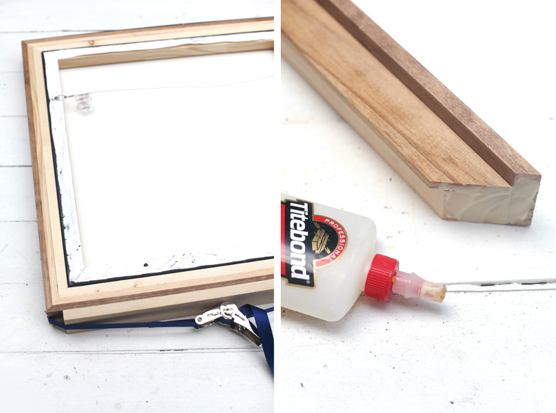 DIY recessed frame