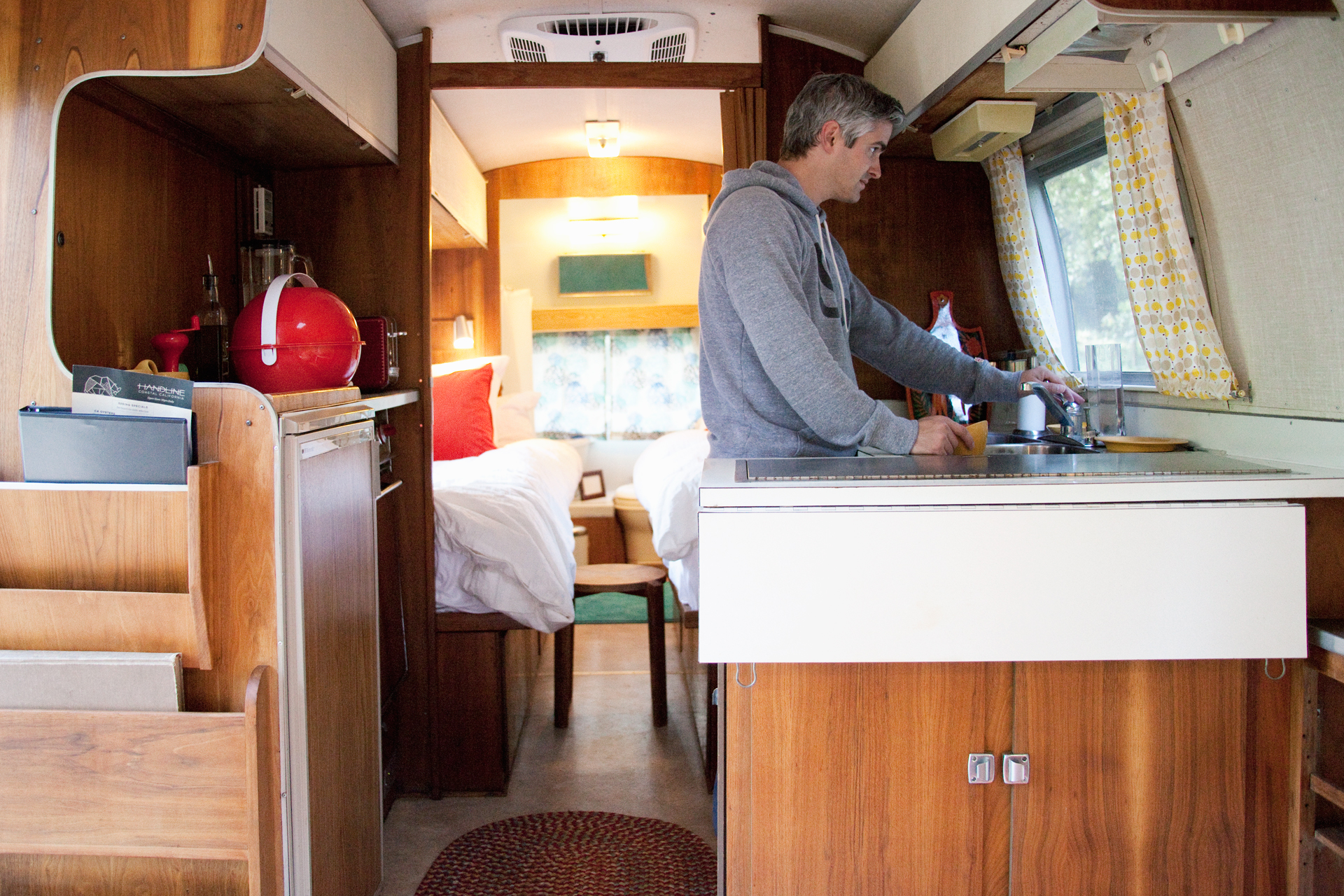 Airstream Glamping in the California Redwoods