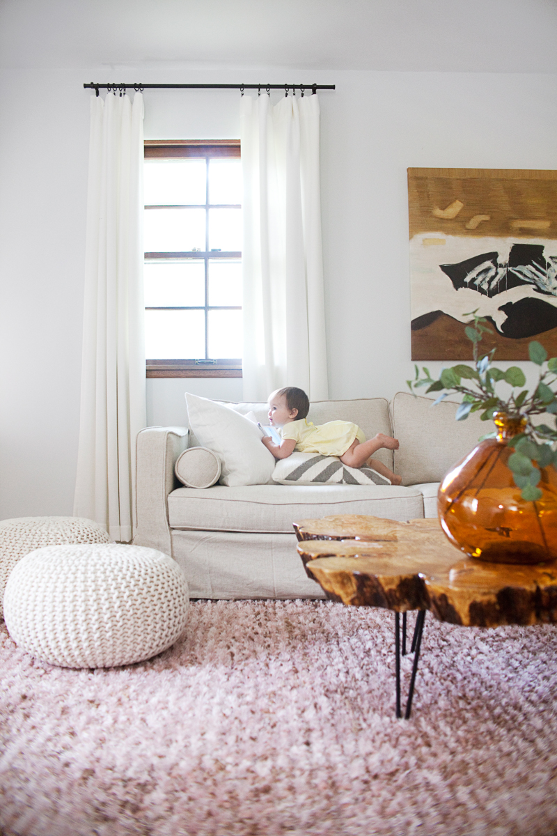 Making Nice in the Midwest- Mandi's Living Room